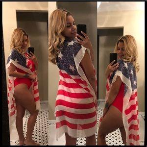 American Flag Coverup
